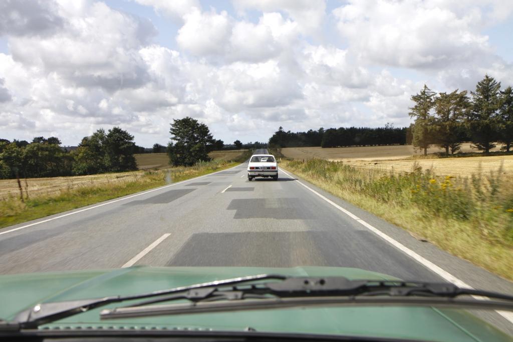 Touren door Denemarken