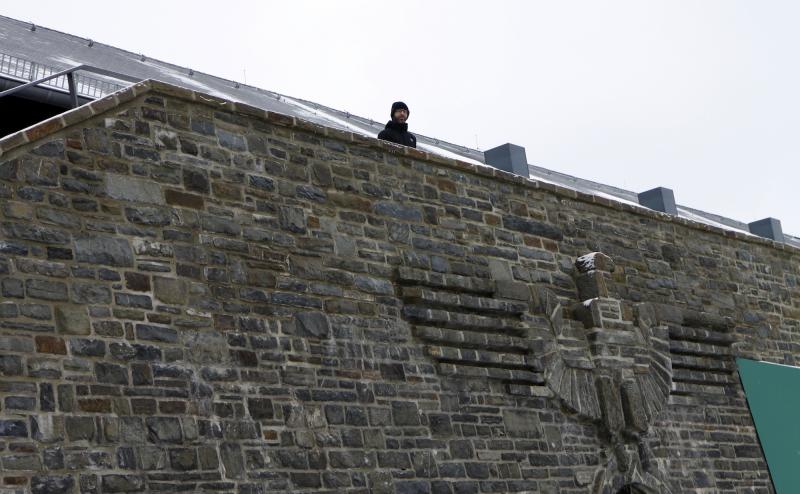 Het balkon waar Hitler zijn toespraken gaf.