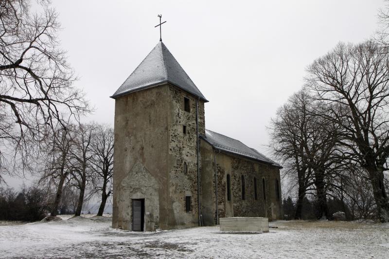 De kerk van Wollseifen.