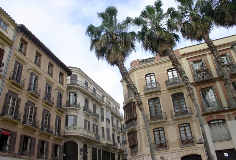 Veel prachtige gebouwen in de stad.