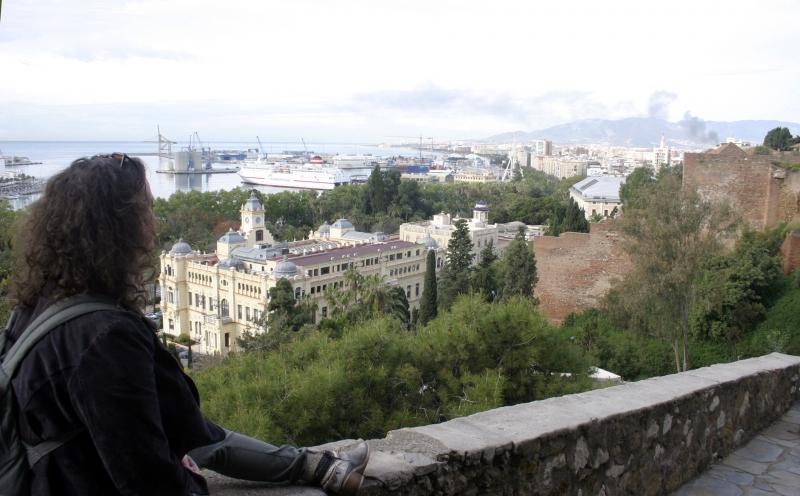 Uitzicht vanaf Gibralfaro.