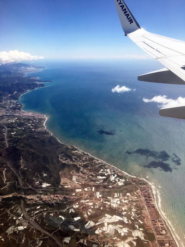 De Spaanse kust is in zicht.