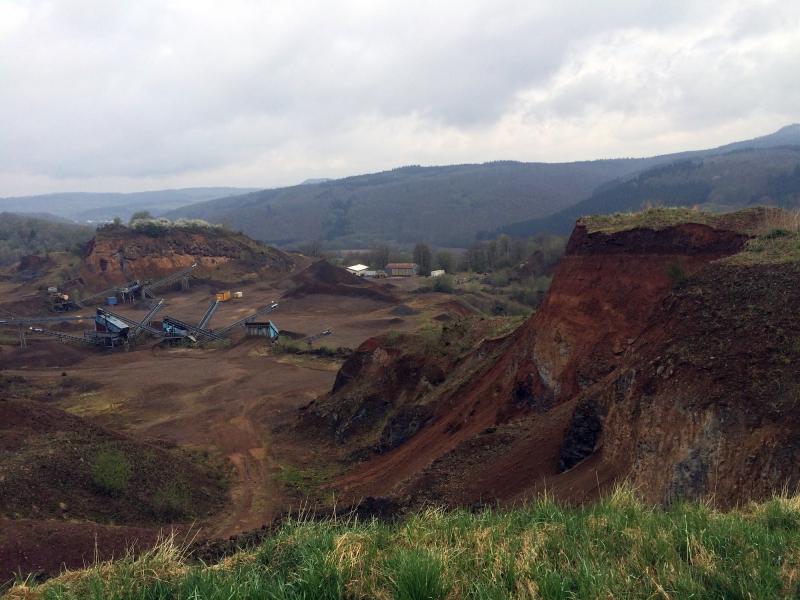 Steengroeve Vulkaaneifel