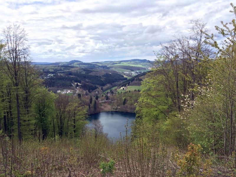 Uitzicht over Eifel