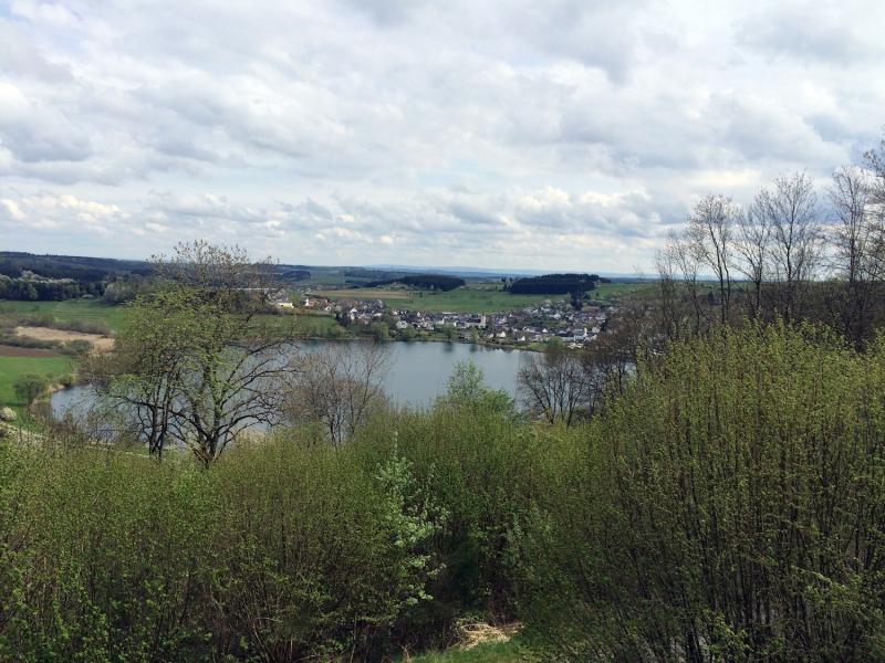 uitzicht over meer