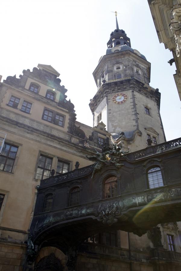 Altstadt toren Dresden