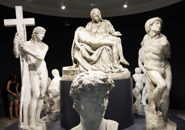 Het deel over de Medici Kapel.