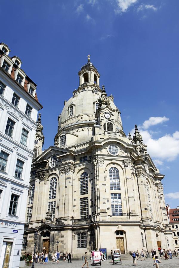 De Frauenkirche in Dresden.