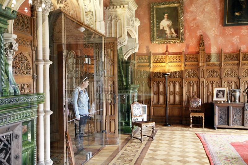 Burg Bentheim is ook van binnen te bezichtigen.