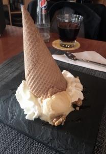 Het omgevallen ijsje.