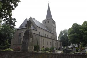 De kerk in Hoch Elten.