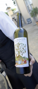 Van de druiven aan de wijnranken tot het nat in de fles.