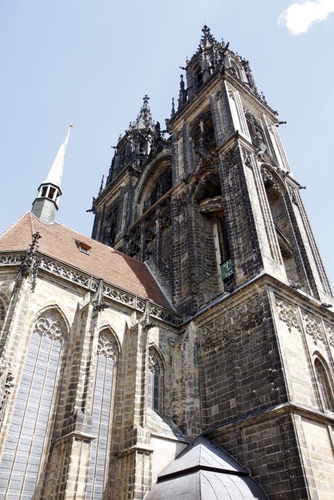 De kathedraal van Meissen.