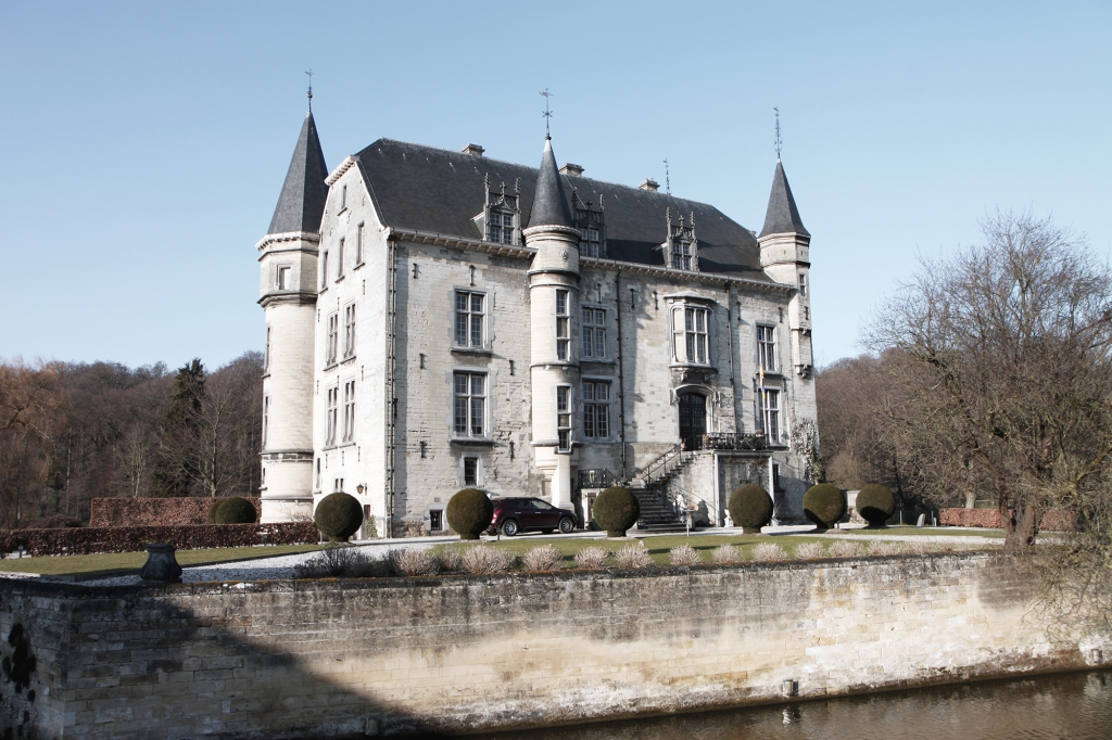 Kasteel Schaloen is precies zoals je een kasteel voorstelt.