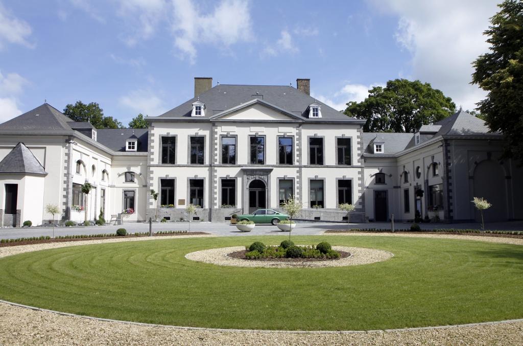 Het gemeentehuis van Fleurus.