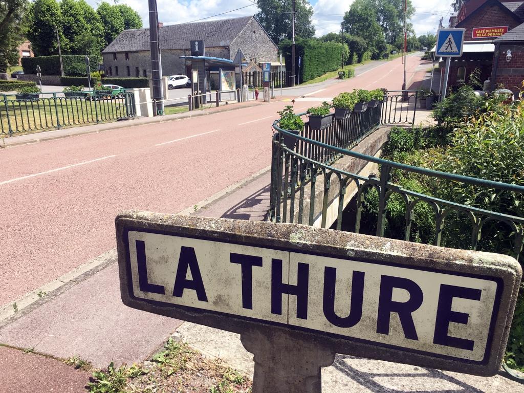 Het grensdorp Hestrud waar Napoleon België binnen kwam.