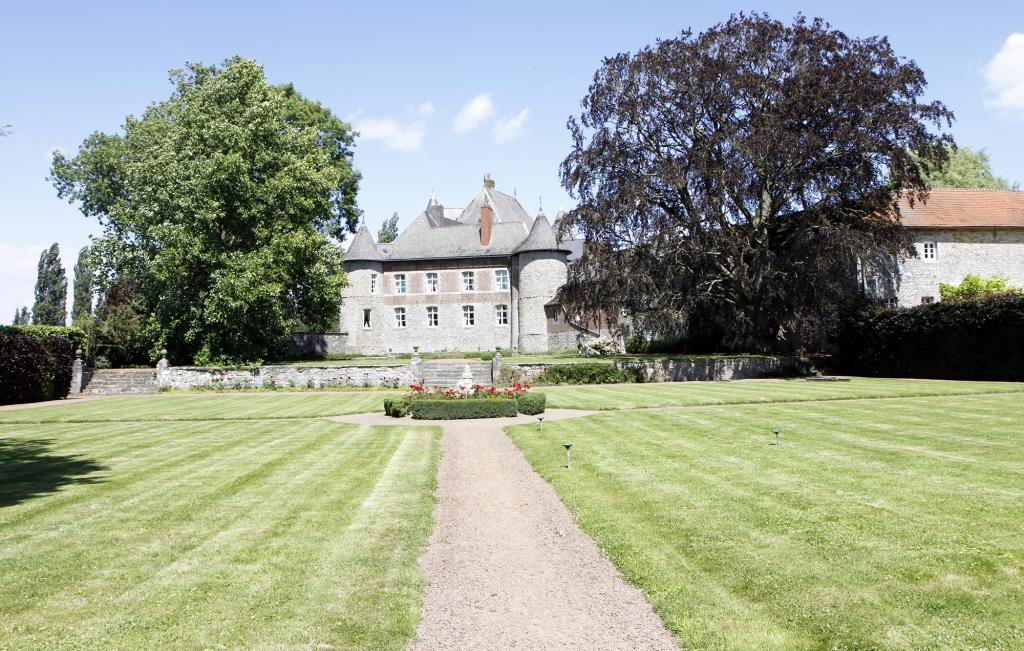 Het kasteel van Le Fosteau.