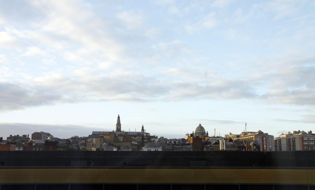 De namiddag in Charleroi.