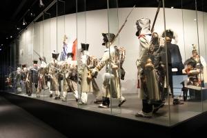 Het Museum Waterloo geeft een indrukwekkend beeld van de Slag van Waterloo.