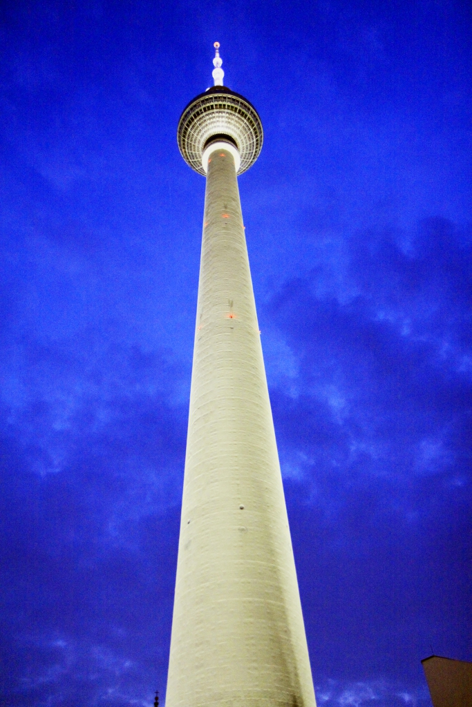 De Fernsehturm is het hoogste van Duitsland