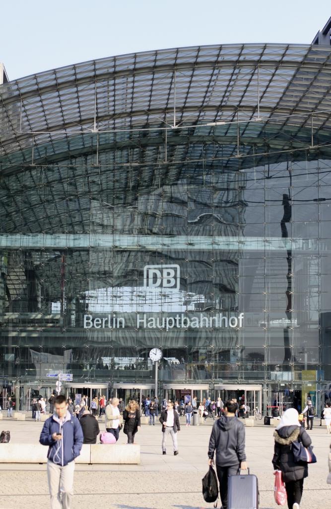 Centraal Station in Berlijn