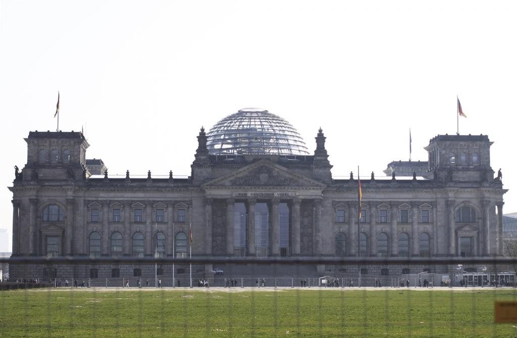 De beroemde Reichstag