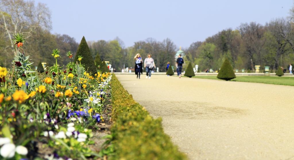 Lekker wandelen achter Schloss Charlottenburg