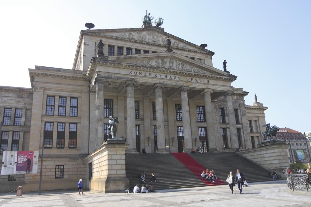 Het Konzerthaus aan de Gendarmenmarkt
