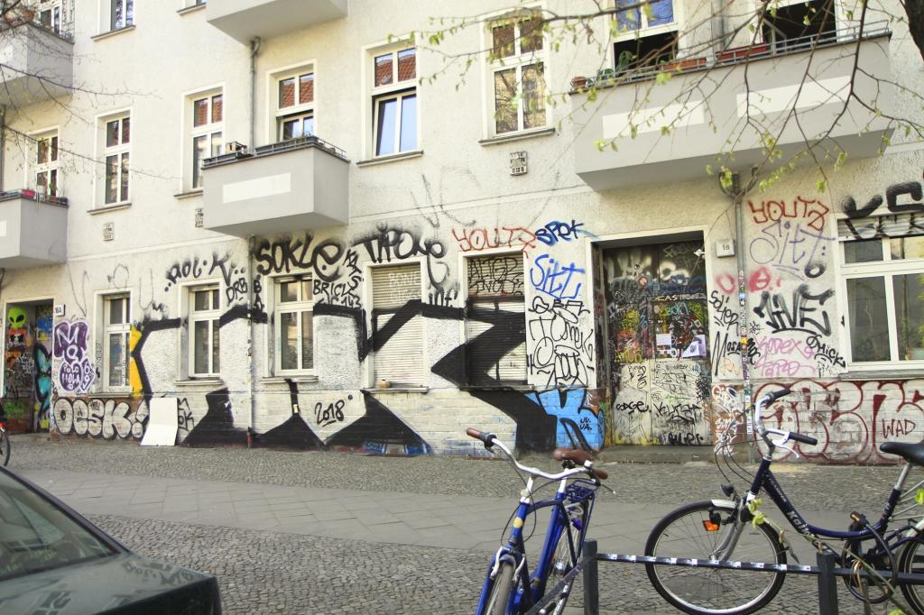 De rauwe kant van Friedrichshain