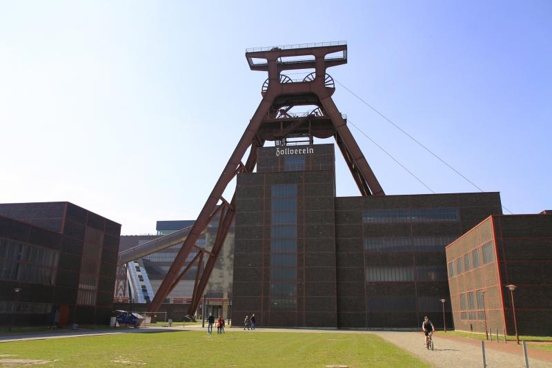 Ingang naar het terrein Zollverein