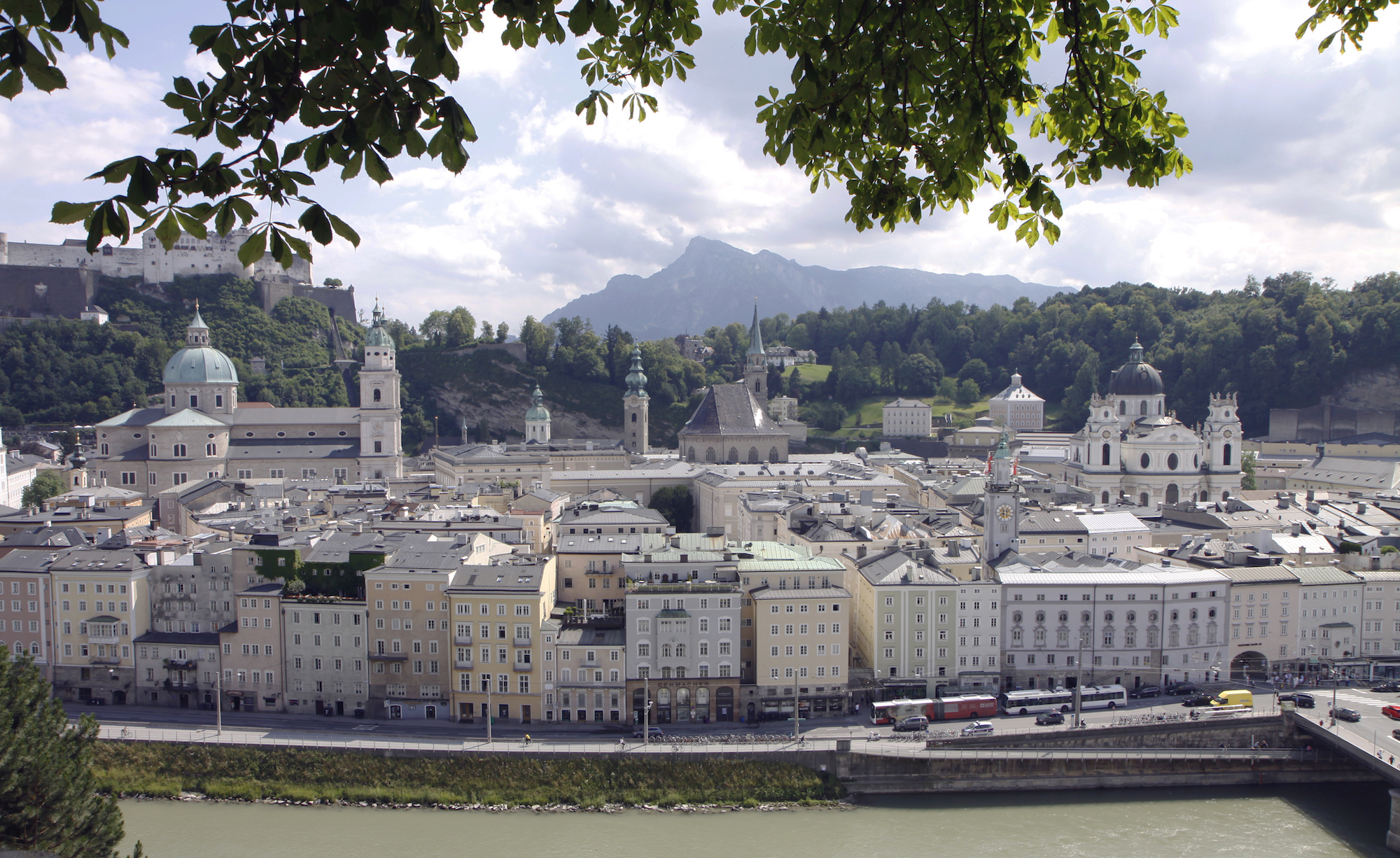 Salzburg: barok, muziek en bergpoetsers