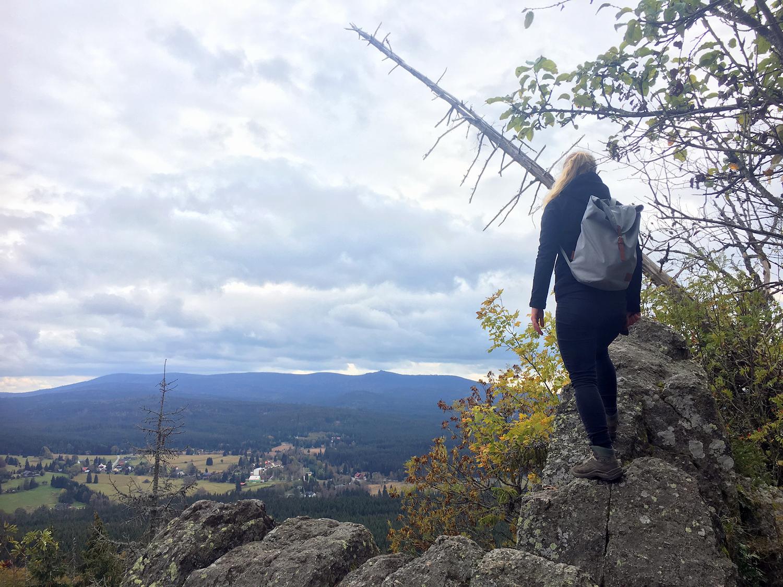 Uitzicht voorbij de bedevaartskapel