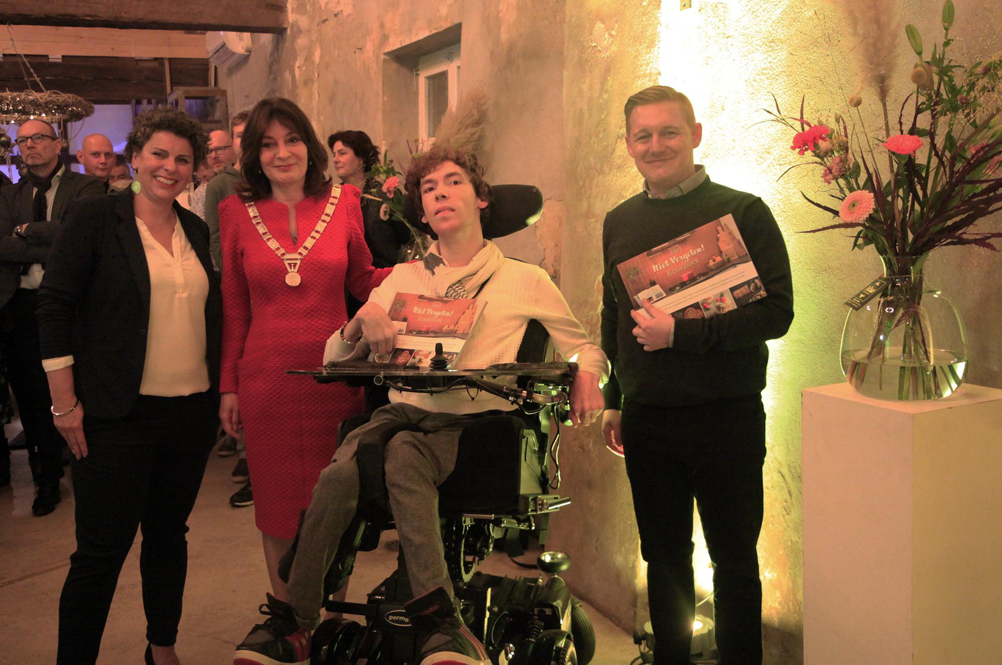VIA Limburg: artikel over presentatie kookboek