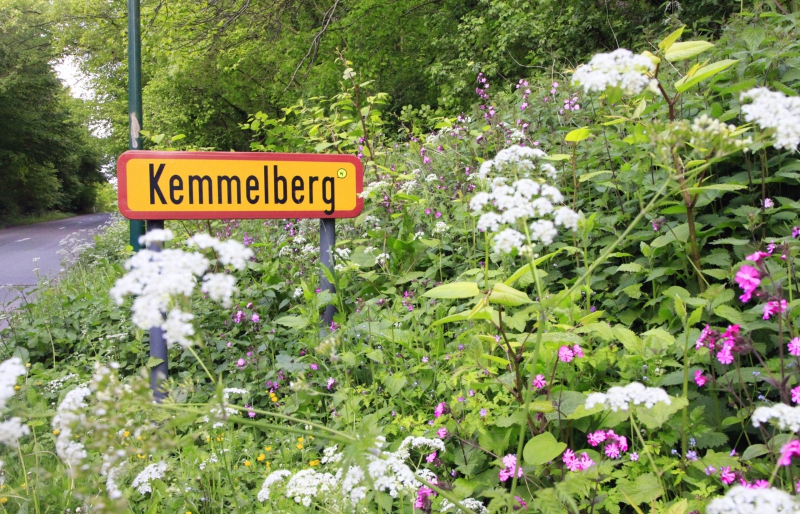 Aan de voet van de Kemmelberg