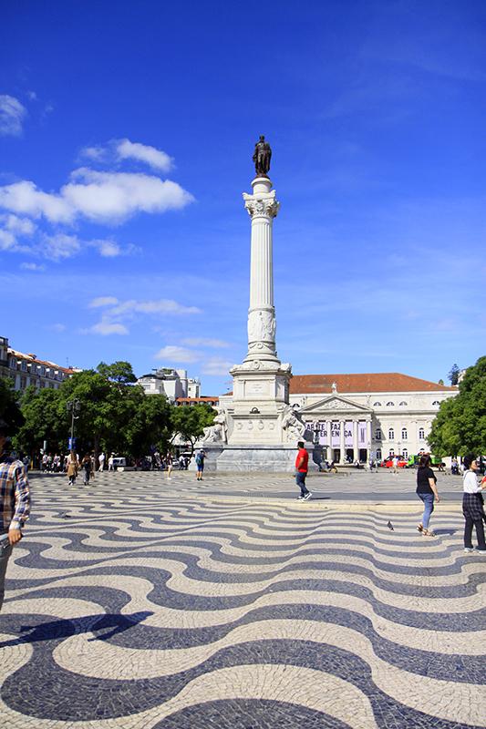 Praça de Dom Pedro IV of Rossio