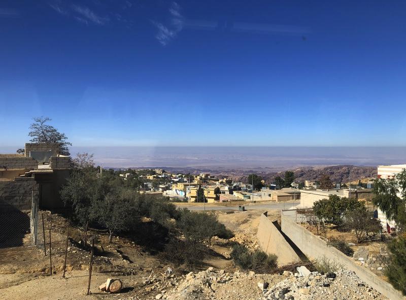 Onderweg door Jordanië