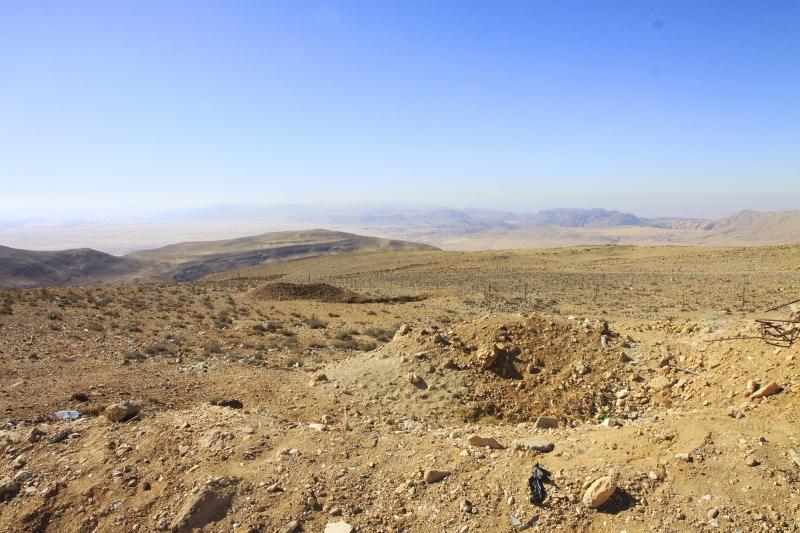 Wadi Rum is uitgestrekt