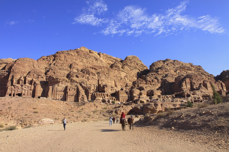 Petra is een complete stad