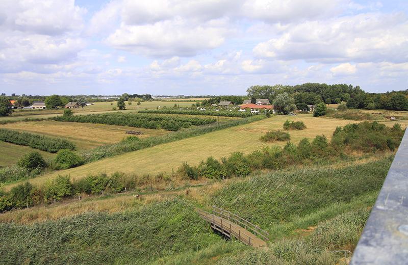 Uitzicht richting Nederland