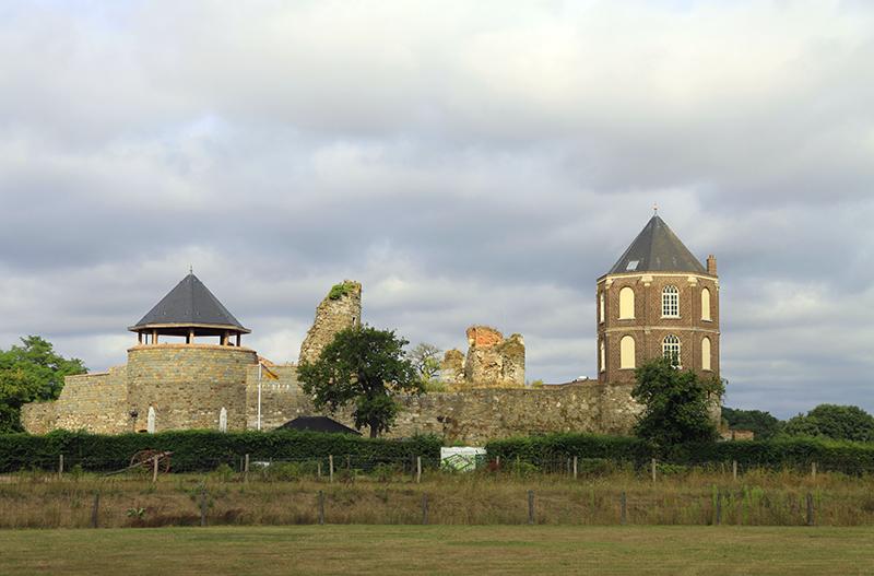 De ruïne van Montfort