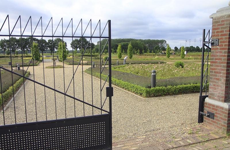 De historische tuinen van Montfort