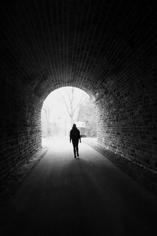 Het licht aan het einde van de tunnel
