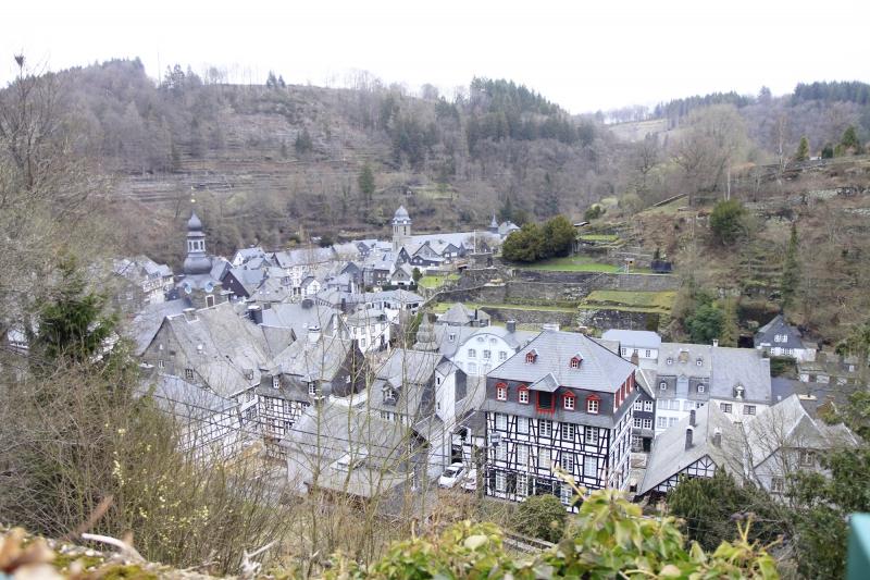 Uitzicht over Monschau