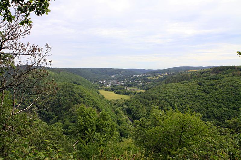 Uitzicht over de Eifel