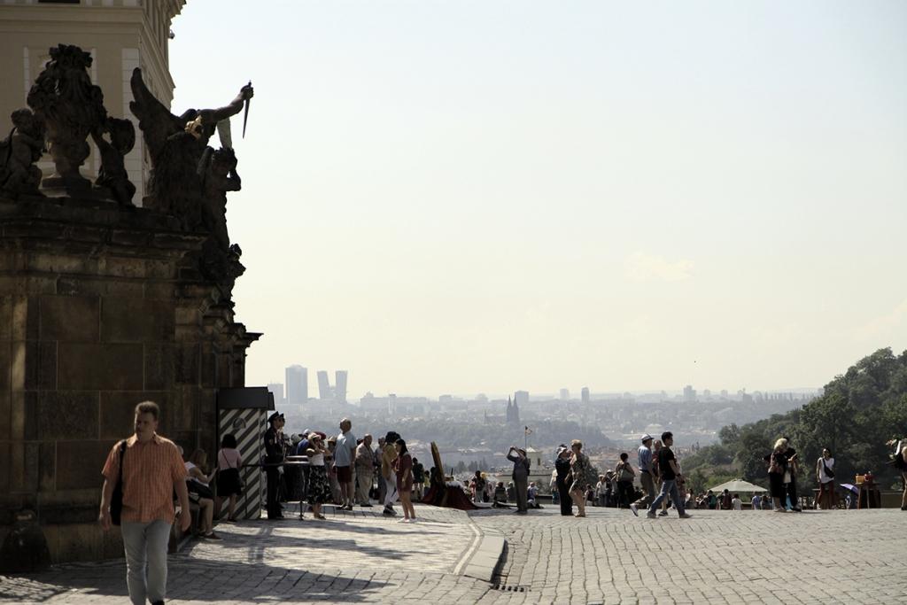 Uitzicht vanaf Praagse Burcht