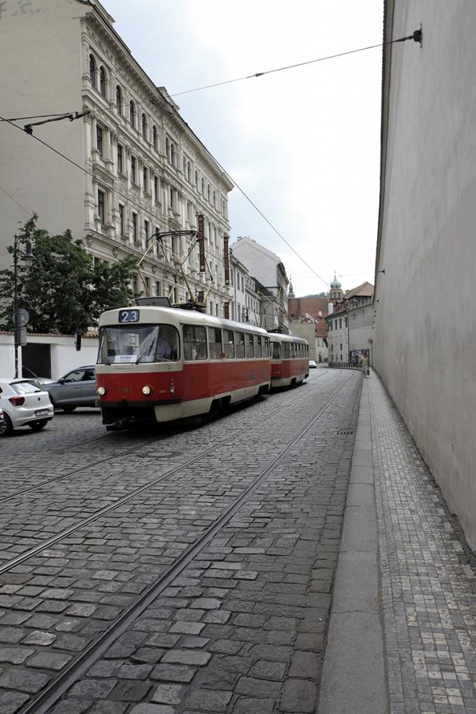 Een Praagse tram