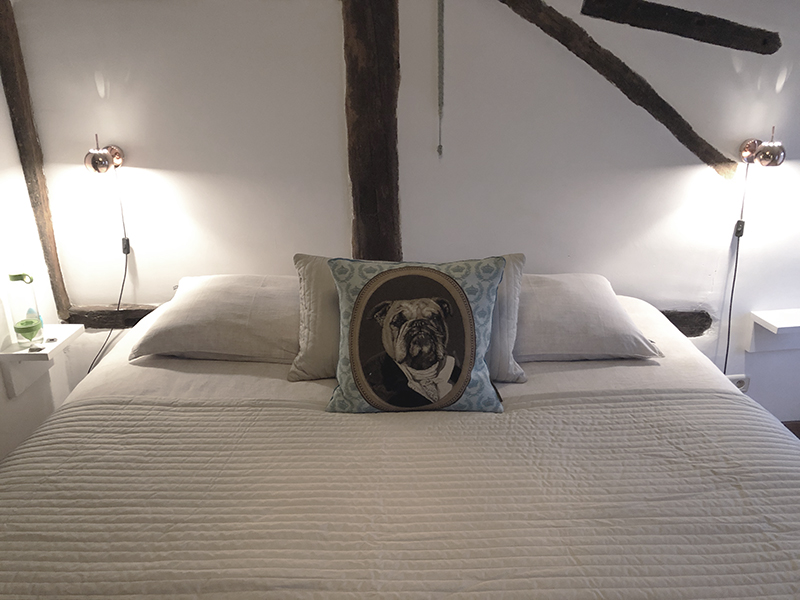 De slaapkamer bij B&B Puur Teuven