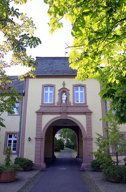 Poort bij Kloster Steinfeld
