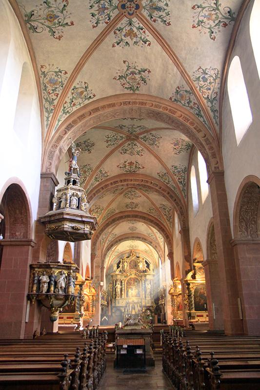 De basiliek van Herman Joseph von Steinfeld