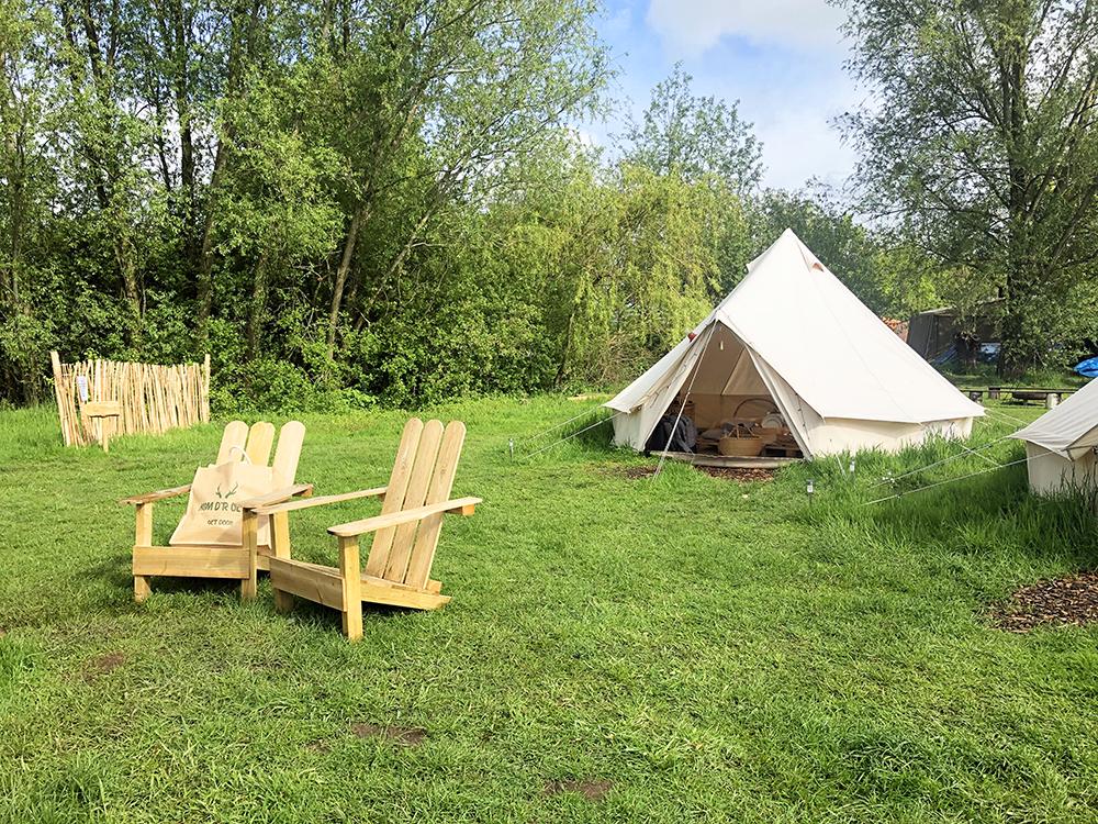 Scandinavische bell-tent